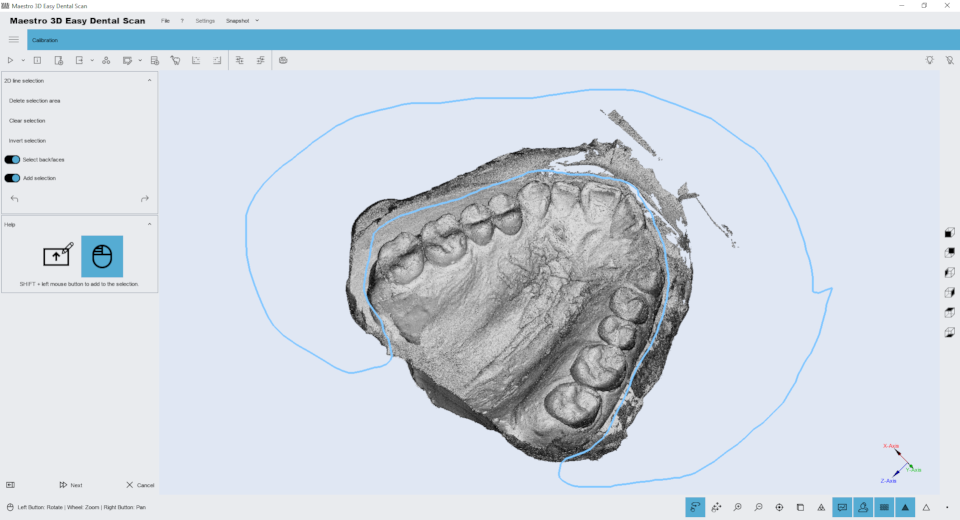 Maestro 3D Easy Dental Scan - User Manual - Maestro3D