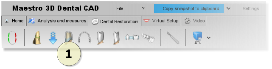 Maestro3d.dental.studio.dental.cad.interface.toolbar.png